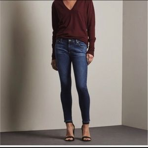 AG the Stevie Petite Skinny Jean 25R